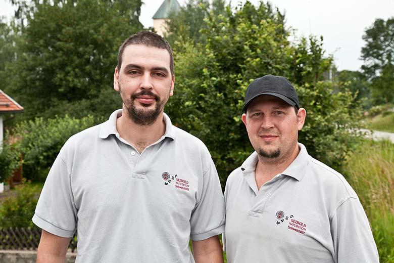 Oliver Seibold und Alexander Seibold